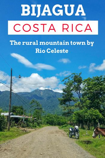 Bijagua de Upala: the best home base to visit Rio Celeste, the sky blue river in Costa Rica. Find everything you need to know about this small mountain village. Costa Rica   Costa Rica travel tips   Costa Rica travel blog