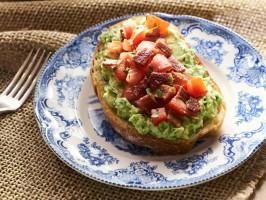 "Bacon-Avocado Toast Bar (Breakfast for Dinner) - Tia Mowry, ""Tia Mowry at Home"" on the Cooking Channel."