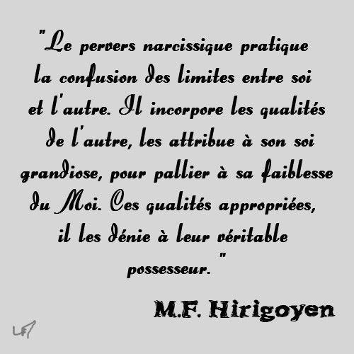 pervers narcissique, MF Hirigoyen (2)