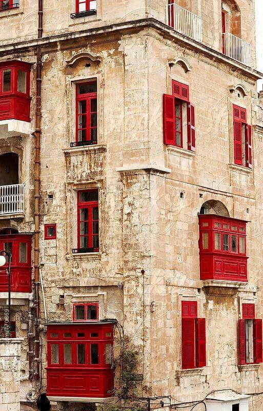 Building of Valletta,Malta.