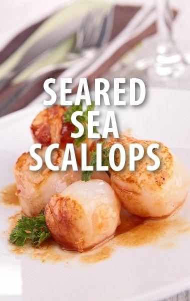 Seared Scallops With Fava Bean Sauté Recipe — Dishmaps