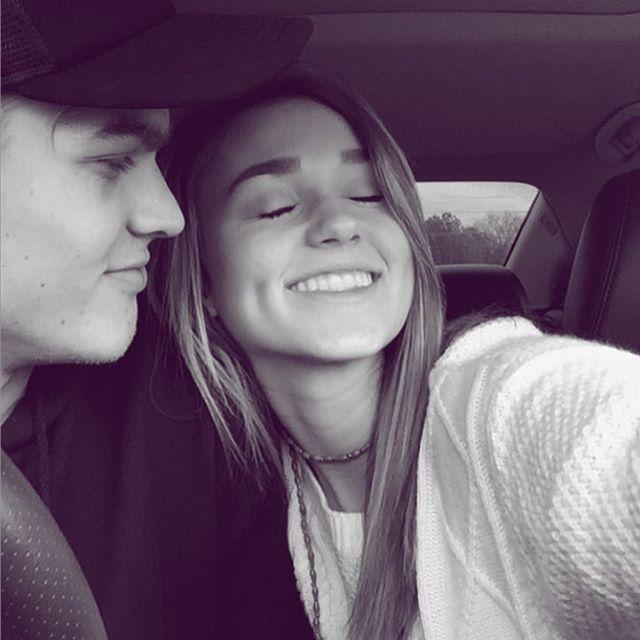 Sadie Robertson and Blake happiness. 12.7.15