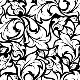 Vintage Seamless Black And White Floral Pattern. Vector Illustration. - Download From Over 60 Million High Quality Stock Photos, Images, Vectors. Sign up for FREE today. Image: 54301731