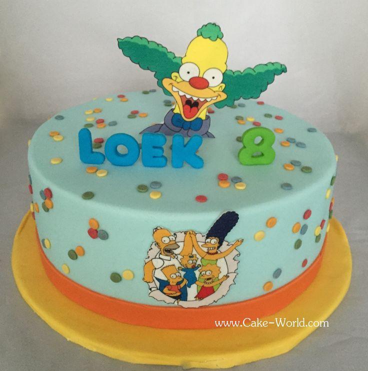 Simpsons taart