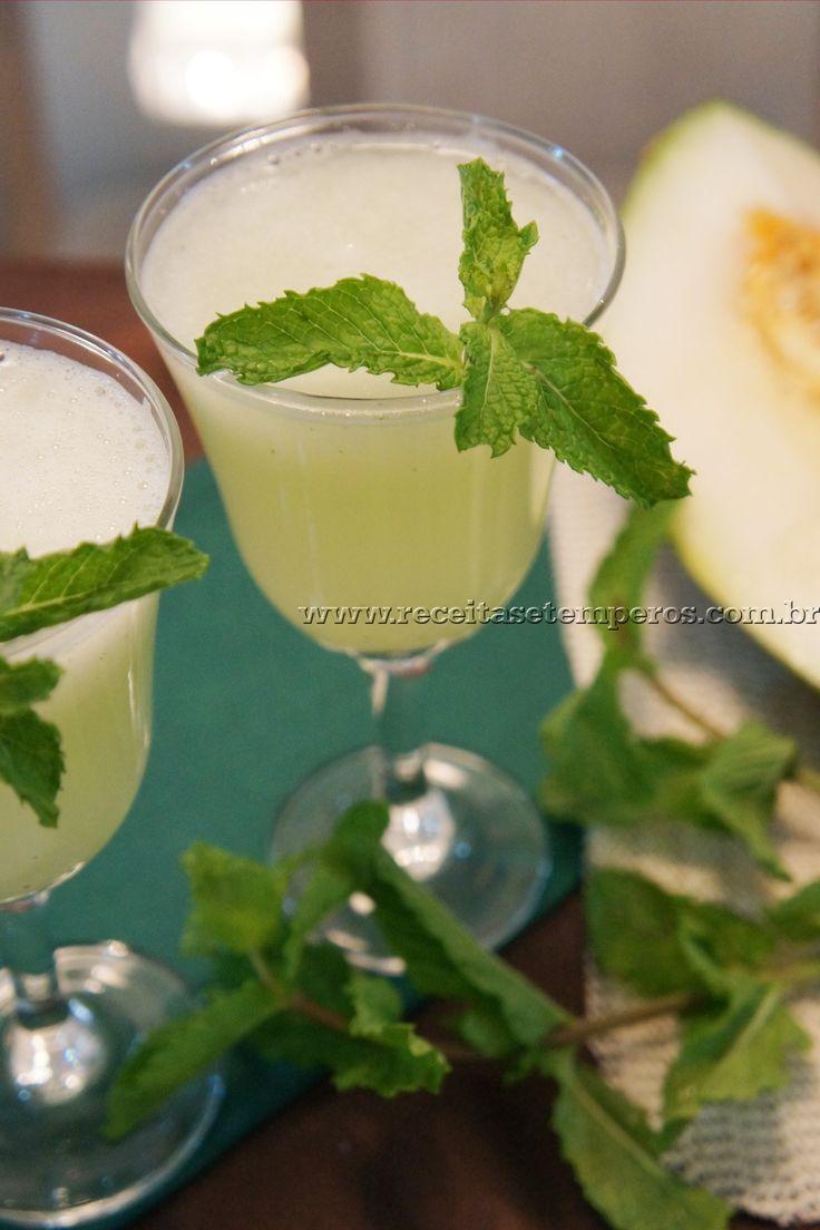 Suco de Melão com Limão | Receitas e Temperos