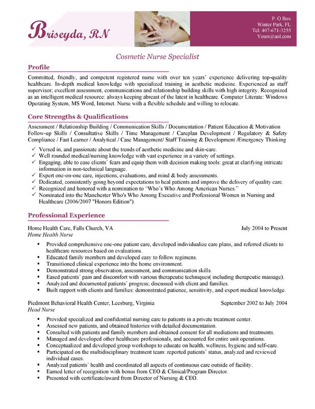 The 25+ best Nursing cover letter ideas on Pinterest Employment - sample medical resume cover letter