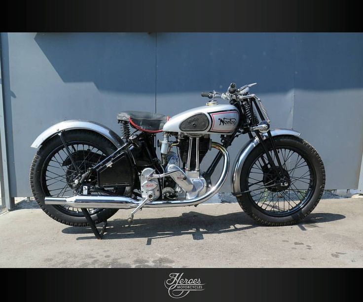 Good morning biker… Starting with a nice Norton from @heroesmotorcycles And it's for sale #motorcycle #lifestyle #vintage #motolife #biker #bobber #norton #oldmotorcycle #life #free #freedom