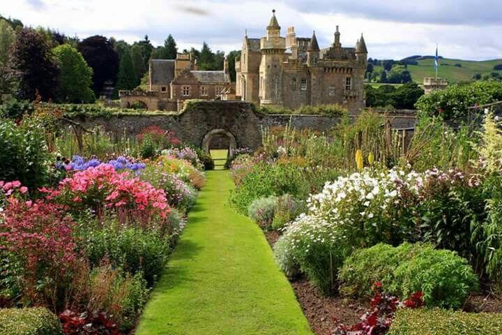 Abbotsford House, Scotland. Home of Sir Walter Scott