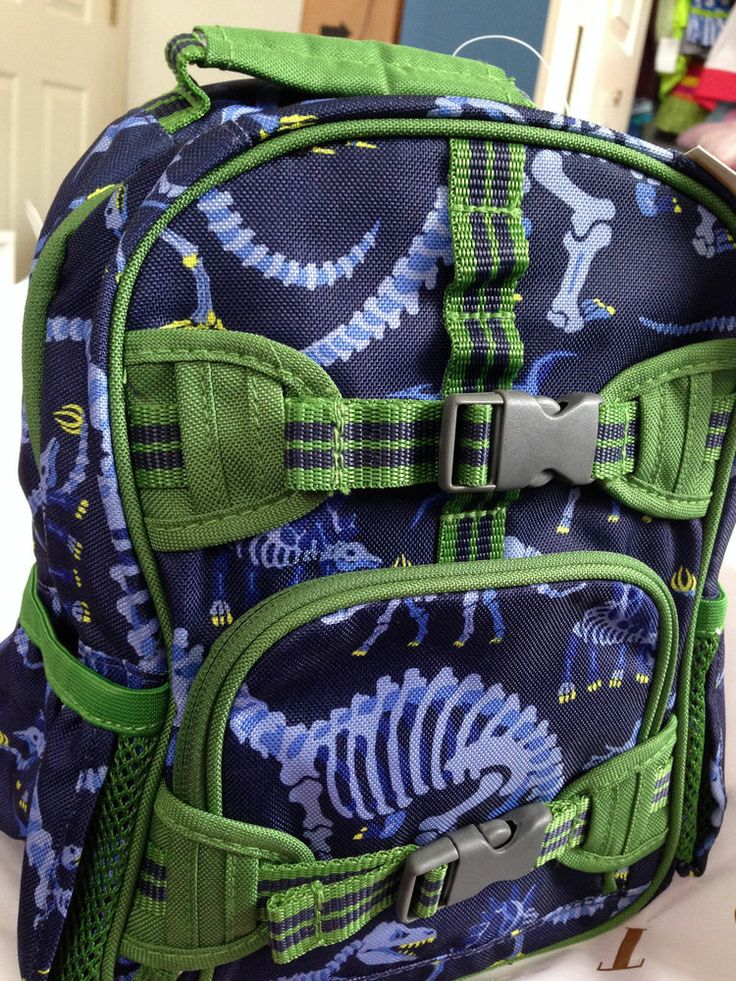 Pottery Barn Kids Triceratops Backpack Home Sweet Home