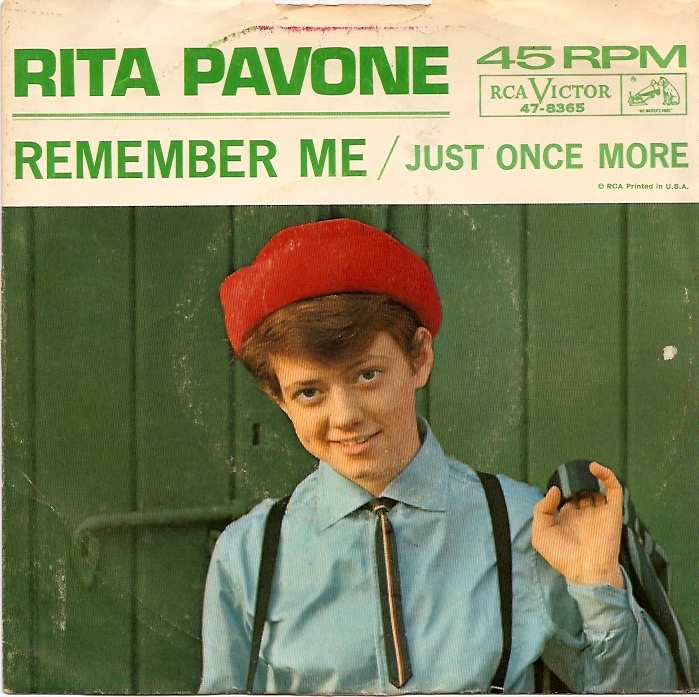 Rita Pavone ready to ride the rails