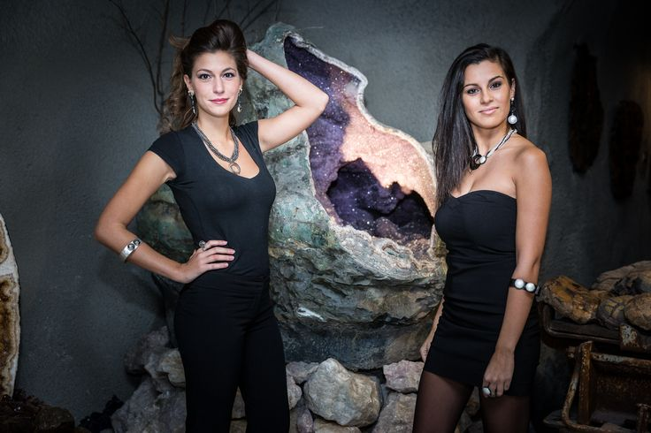 gioielli della linea Black di Rosamaria Venetucci per Didoni