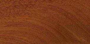 CAOBA: Esta madera de grano fino muy resistente  tiene un hermoso color marrón rojizo.  Es una de las preferidas en ebanistería ya que en gran parte se emplean para muebles de calidad, como armarios, revestimientos de madera y chapas.  Debido a su propiedad del alta densidad y durabilidad es muy empleado en zonas tropicales que tienen a alta humedad.