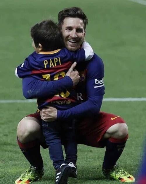 Padre e Hijo #Messi