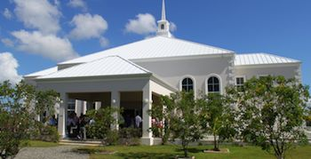 The Cayman Islands Baptist Church, founded in 2005, offers Sunday and Wednesday worship.