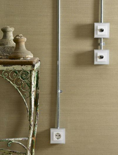 M s de 1000 ideas sobre interruptores de luz en pinterest - Instalacion electrica superficie ...