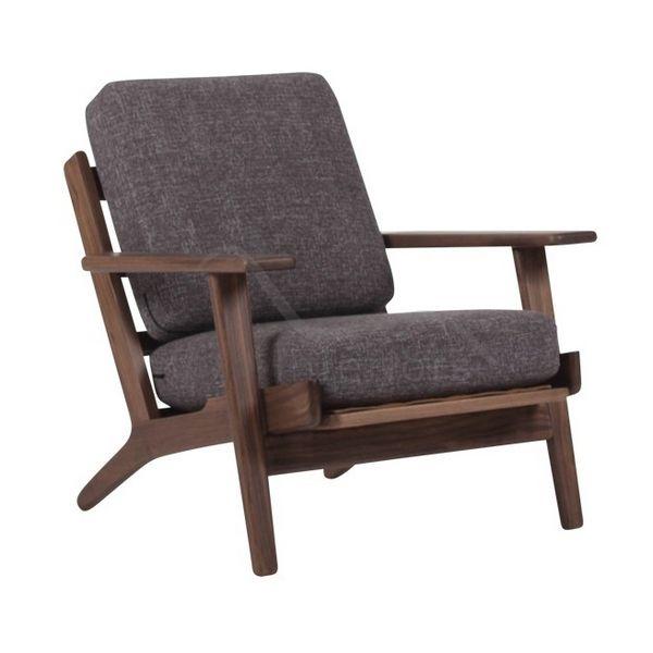Buy Designer Furniture: Wegner Style GE 290 Easy Chair | Vita Interiors