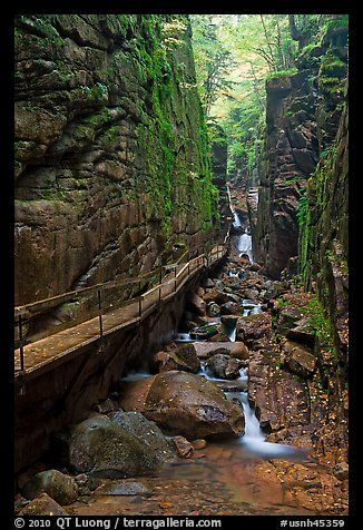 Hike the Flume in Franconia NH