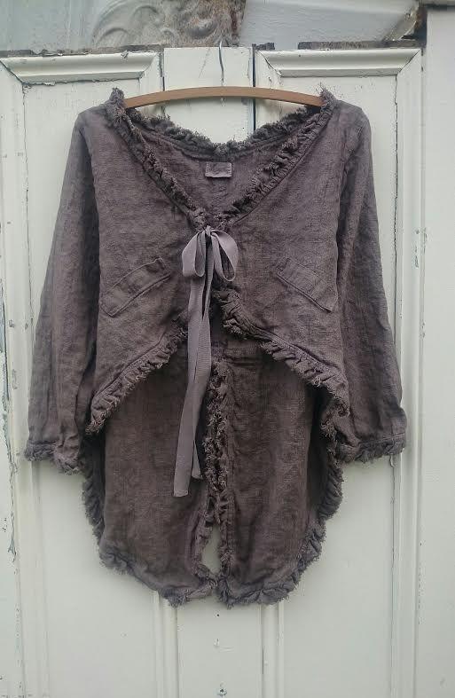 Chocolat Linen Tale Jacket! MegbyDesign