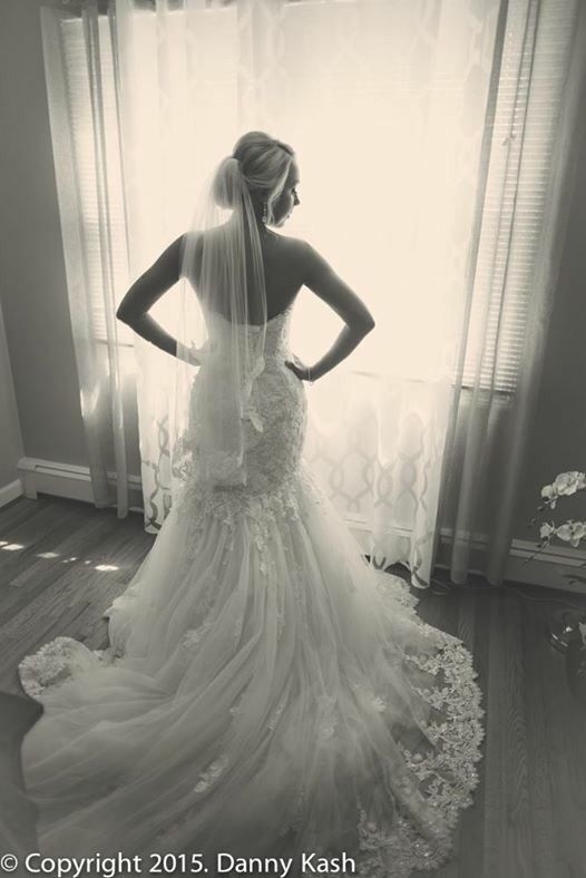 Maggie Sottero Marianne Gown in ivory over blush  Danny Kash Photography