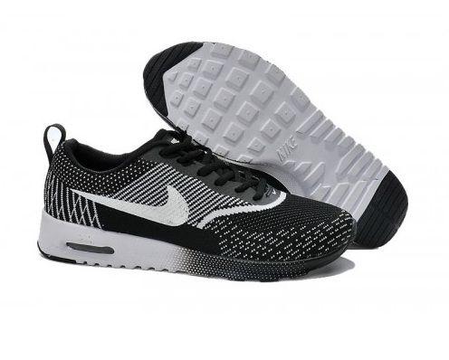 633 Nike Air Max Thea Flyknit Femmes Hommes Noir Blanc Running Pas Cher  sport shoes   676c26d2d535