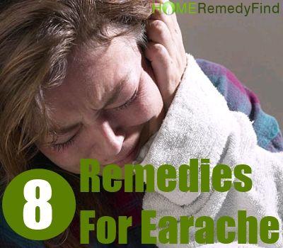 8 Superb Home Remedies for Earache