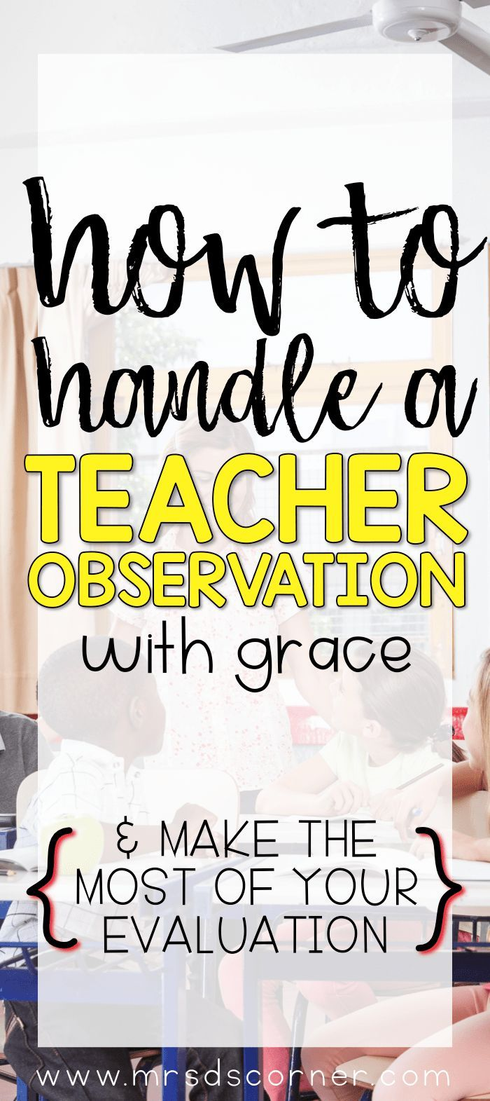 Observations and informal walk-throughs are an unavoidable part of being a teacher. And the anticipation of these events can make even the best veteran teachers nervous. Sure, some teachers don't mind being observed, while the rest of us are nervous because of the audience in the room. Regardless of how you feel, there are several …