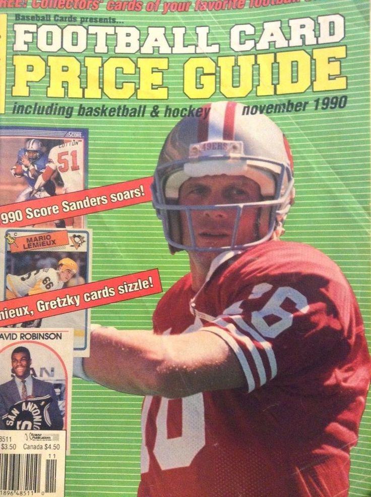 Football Card Price Guide Magazine David Robinson November