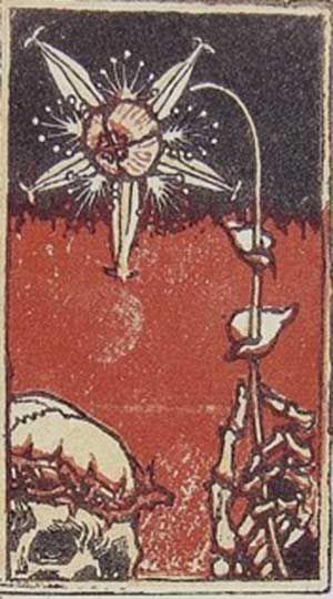 Akseli Gallen-Kallela, Kuolema ja Kukka (Death and flower)