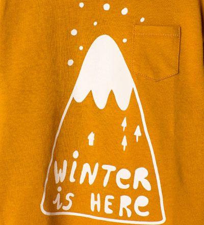 Imagem 5 de T-shirt algodão orgânico estampado da Zara