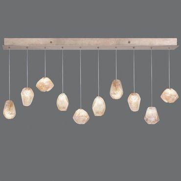 Natural Inspirations 10 Light Scattered Linear Pendant | Fine Art Lamps at Lightology