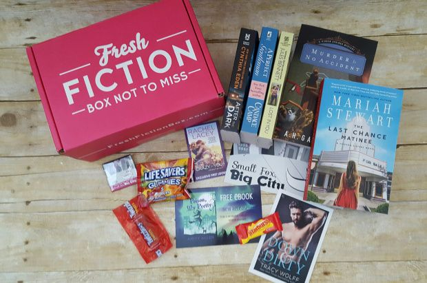 34 best national reading month images on pinterest book lovers fresh fiction box april 2017 fandeluxe Gallery
