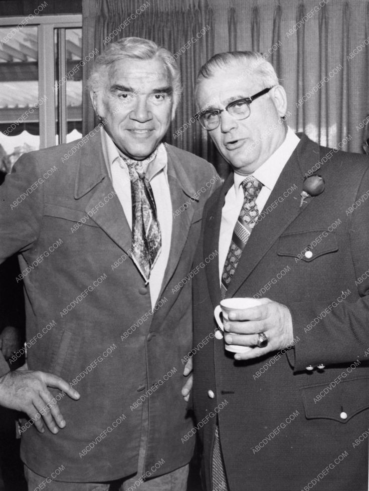 Lorne Greene Ohio State football coach Woody Hayes 1180-10