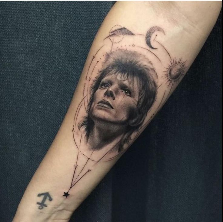 Tattoo of Bowie