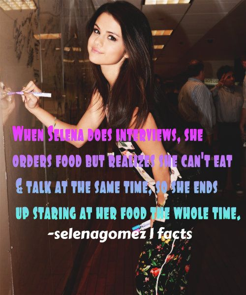 Selena Gomez facts
