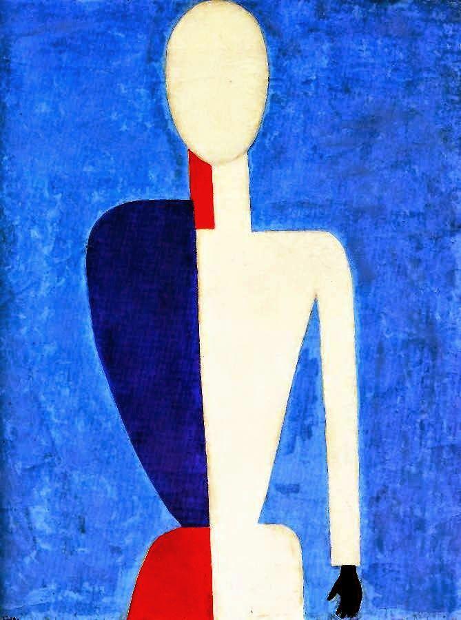 Kazimir Malevich | Cubist/Geometric abstract painter |