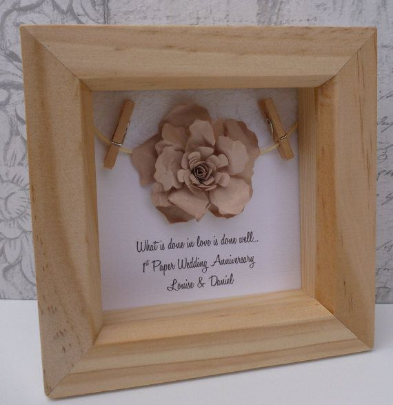 What Gift For 1st Wedding Anniversary: 25+ Best Ideas About 1st Anniversary Gifts On Pinterest