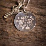 Silver Johnny Cash Necklace | Bourbon & Boots