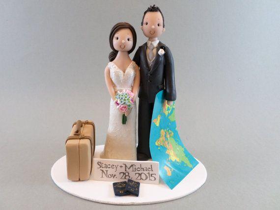 Hochzeitstorte Topper  benutzerdefinierte von mudcards auf Etsy