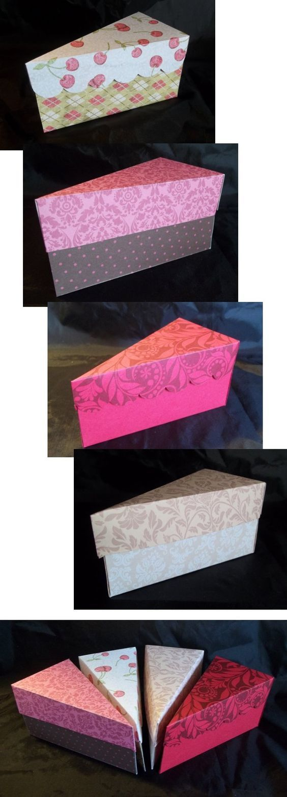 Things to make and do - Cake slice box