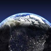 Enjoy a stunning live 3D simulation of our planet with global weather, forecasts and world clock for cities around the world.