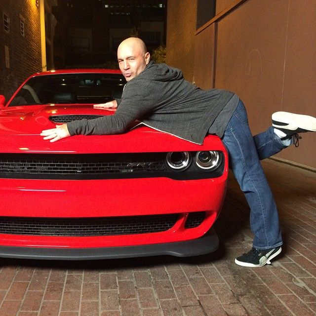 """Thank you @drivesrt for loaning me the Challenger Hellcat this weekend in Denver. A true renaissance of the American Muscle Car. You folks knocked it out…"""