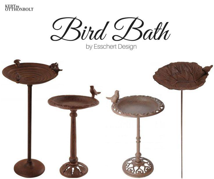 Kerti dekor tipp: rusztikus öntöttvas madáritatók  Keresd a Kert és Otthonboltban!