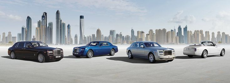 2013 Rolls Royce Phantom Family