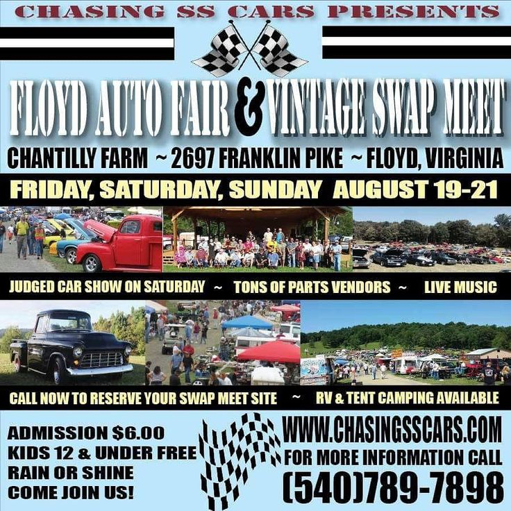 Chasing SS Cars presents the annual Floyd Auto Fair