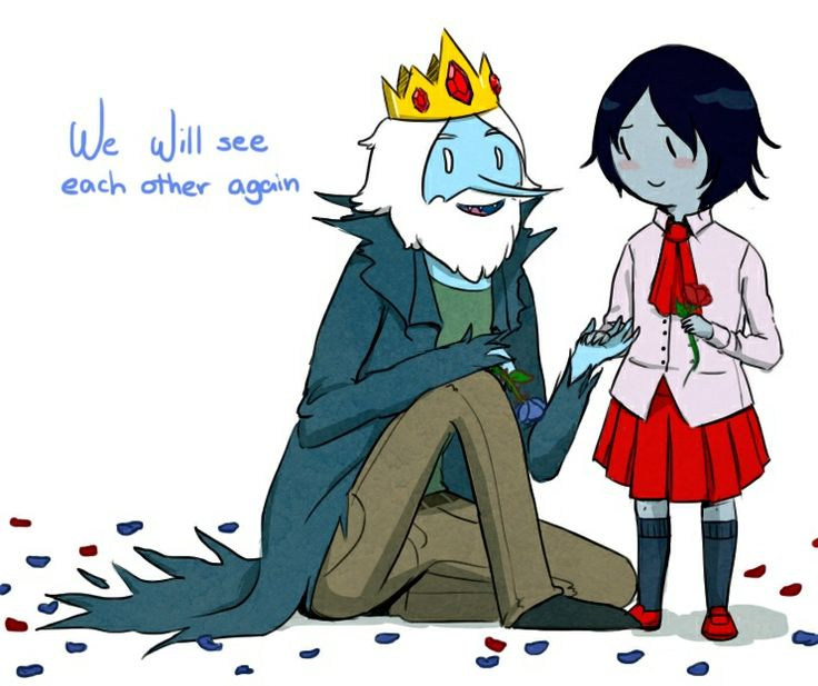 marceline and the ice king relationship