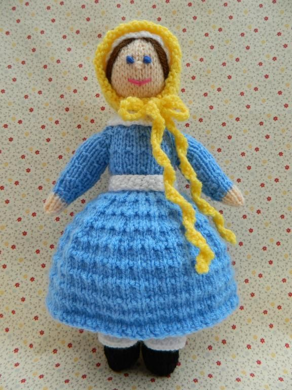 Looking for your next project? You're going to love Doll Knitting Pattern - A Victorian Doll by designer J.E. Marshall.