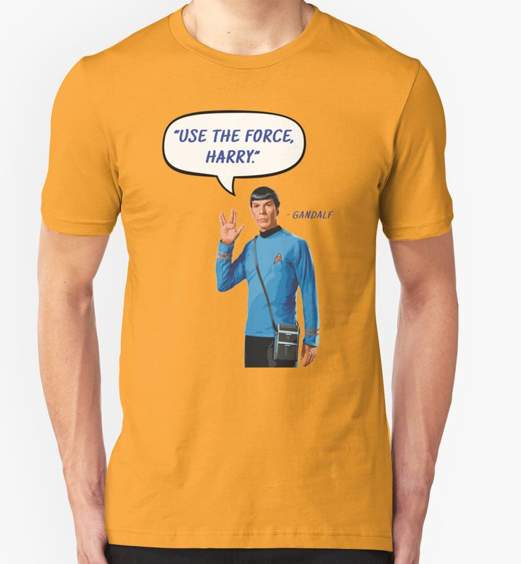 spock star trek star wars harry potter lord of the rings sci fi science fiction fantasy parody irony use the force may the force be with you vulcan