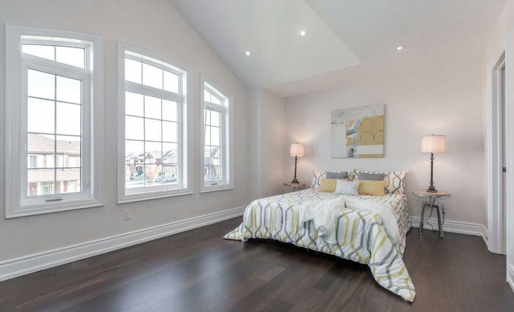 Second bedroom Jatoba hardwood floor