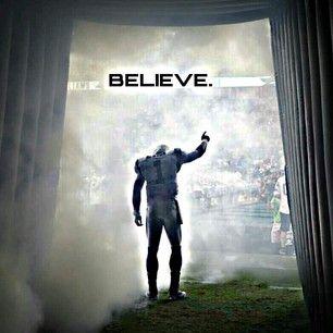 Believe!  Carolina Panthers