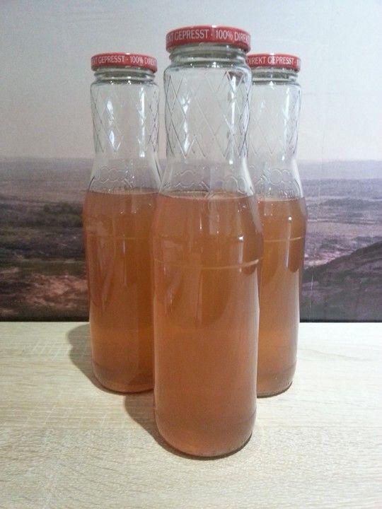 Traubensaft selbst herstellen und einkochen, ein beliebtes Rezept aus der Kategorie Getränke.